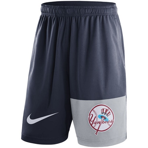MLB Men's New York Yankees Nike Navy Cooperstown Collection Dry Fly Shorts